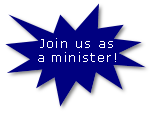 Join us as a minister